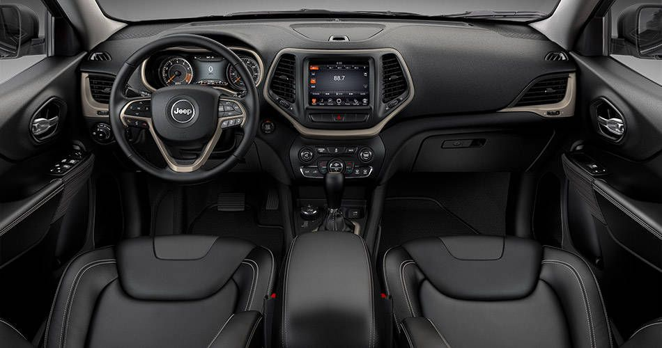2015 Jeep Cherokee Limited Interior In Black Morocco Jeep