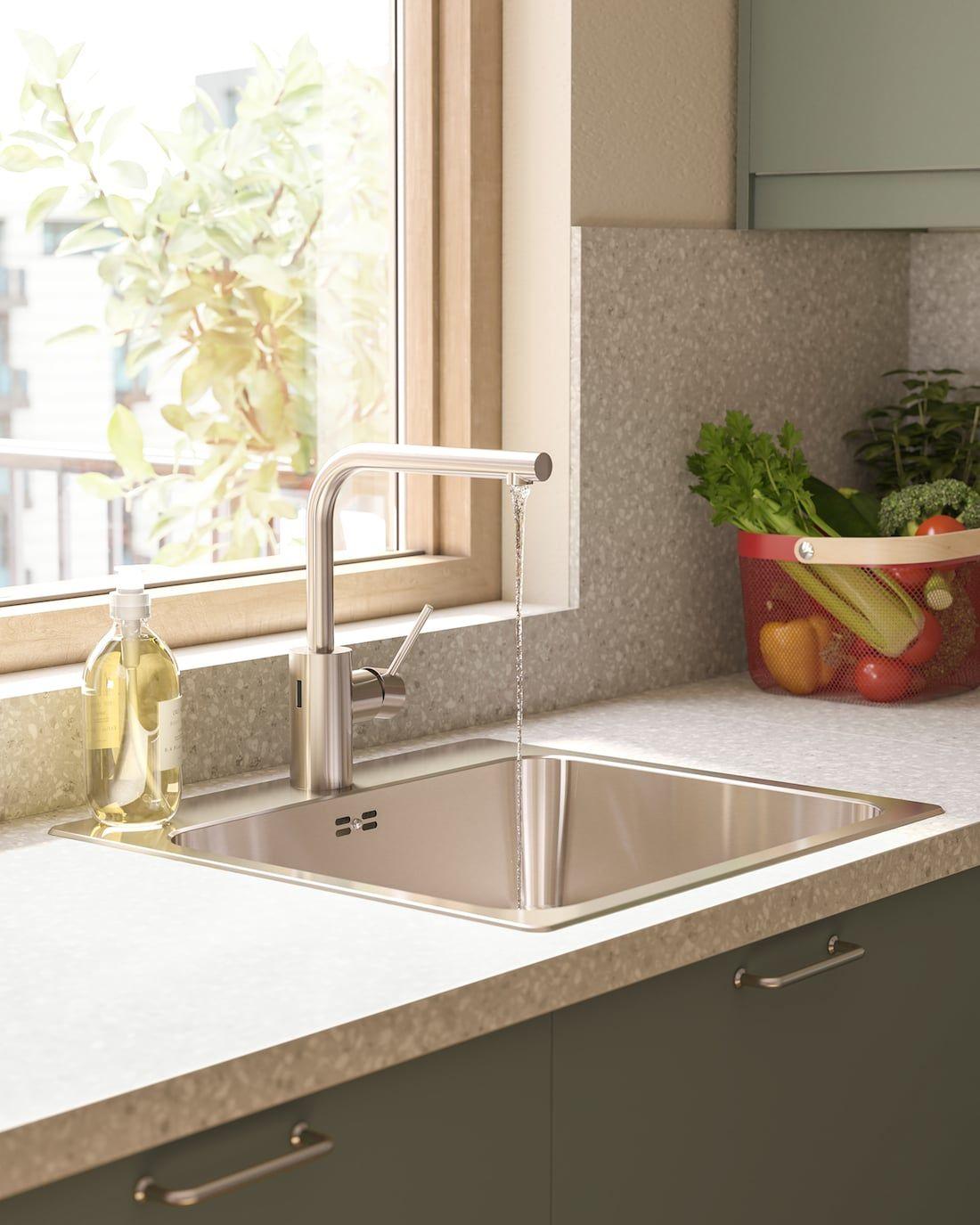 Et grønt og miljøbevidst køkken in 2020 Ikea, Green