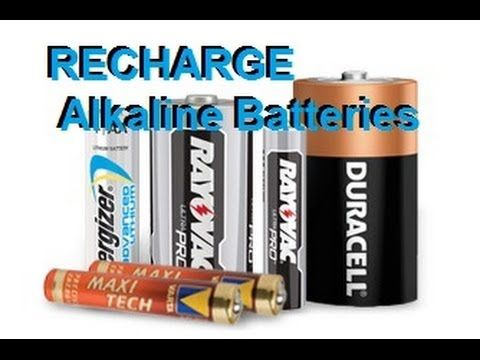 Recharge Alkaline Batteries Duracell Energizer Rayovak Aa Aaa C D Youtube Be Sure You Are Very Careful This Would B Duracell Batteries Diy Alkaline Battery