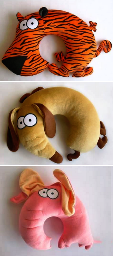 Animal Pillow Pinterest : Animal Toys - Tutorial - print the picture/drawing COOL THINGS Pinterest Neck pillow, Toy ...