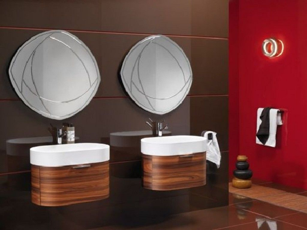 Unusual Bathroom Mirrors Modern Bathroom Decor Elegant Bathroom