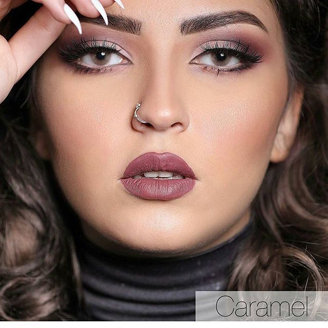 عدسات لنس مي كراميل Nostril Hoop Ring Glam Makeup Hoop Ring