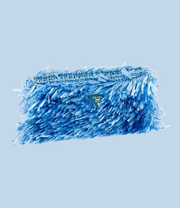 9a845166e6 Borse Prada in Rafia | Prada | Prada handbags, Prada, Crochet clutch
