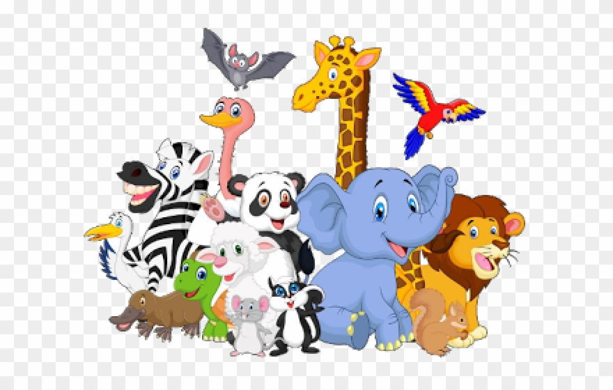 Download Hd Baby Animal Clipart Group Png Download And Use The Free Clipart For Your Creative Project In 2021 Animal Clipart Elephant Background Baby Animals
