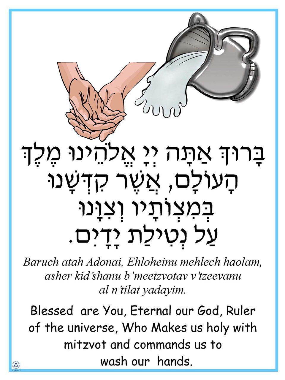 Netilat yadayim morning prayer