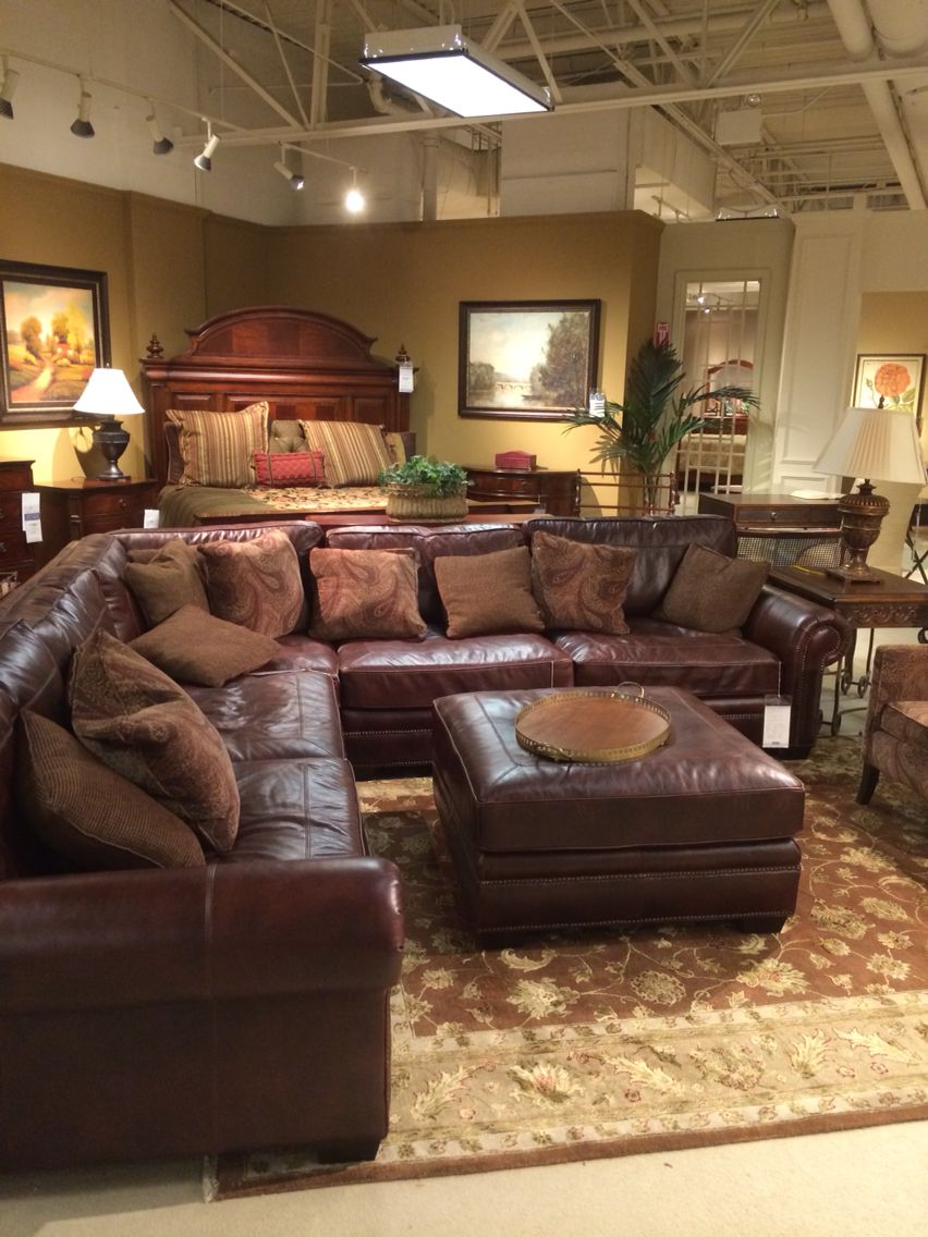 Exceptional Star Furniture Leather Sectional