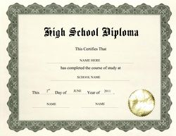 Free high school diploma templates geographics classroom free high school diploma templates geographics yadclub Choice Image