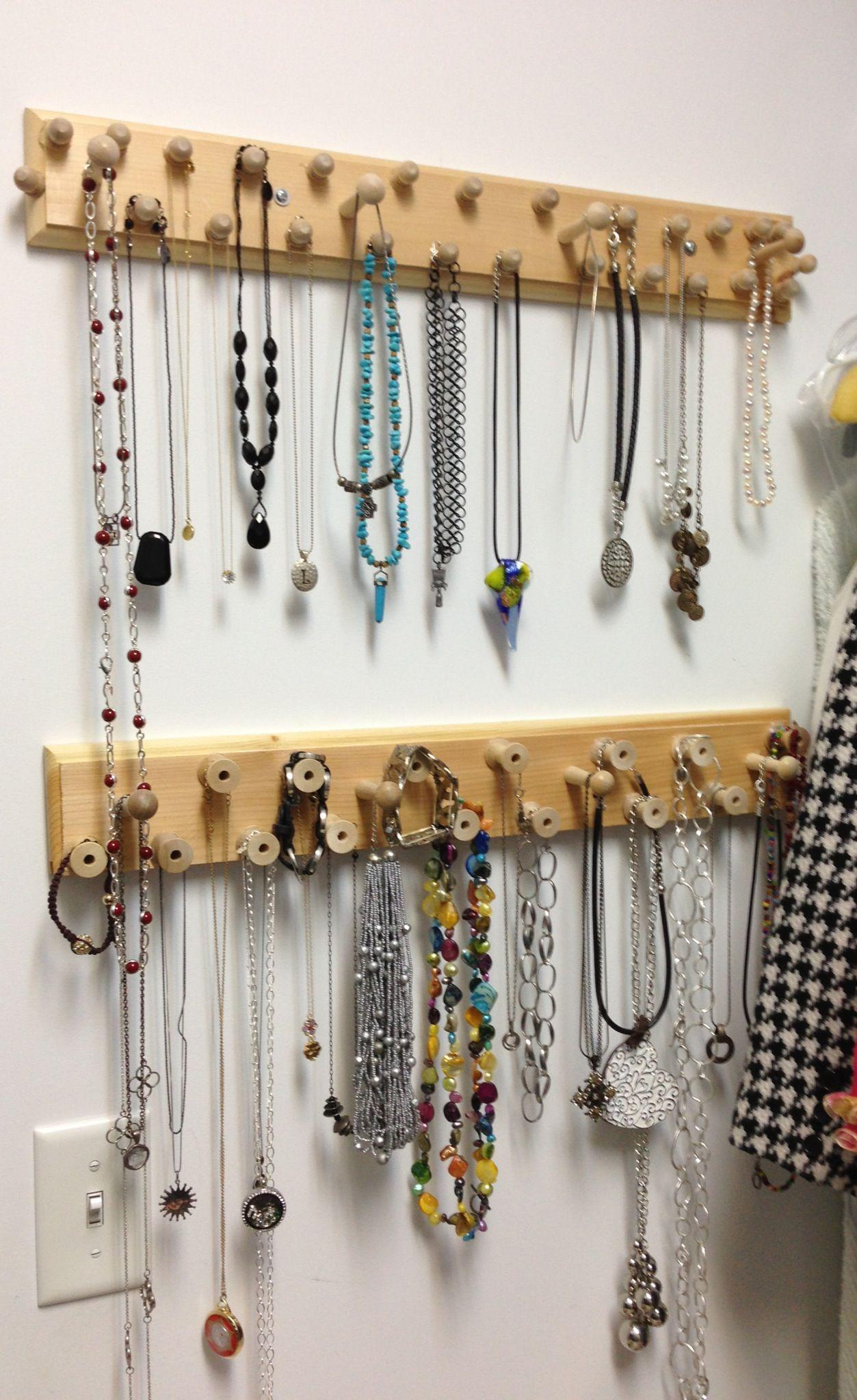 Jewelry Wall Organizer Diy Jewelry Organizer Home Ideas Pinterest Diy Jewelry