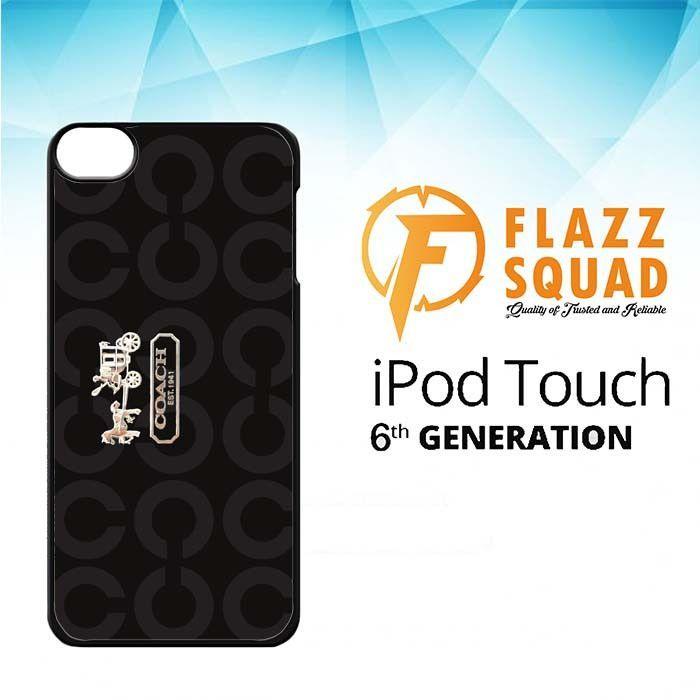 coach bag X4423 iPod Touch 6 Case