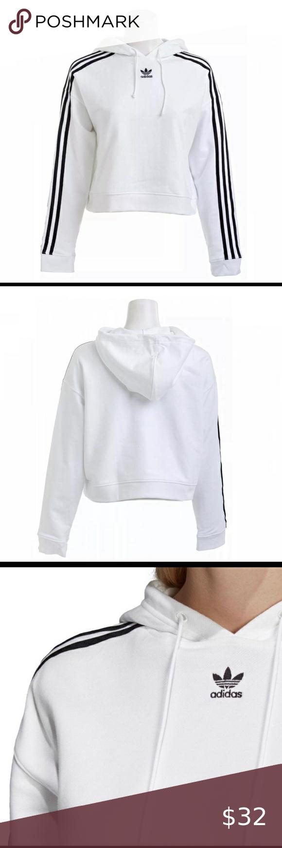 Predownload: Nwt Adidas Originals Cropped Hoodie Sz M Crop Sweatshirt Hoodie Cropped Hoodie Sweatshirts Hoodie [ 1740 x 580 Pixel ]
