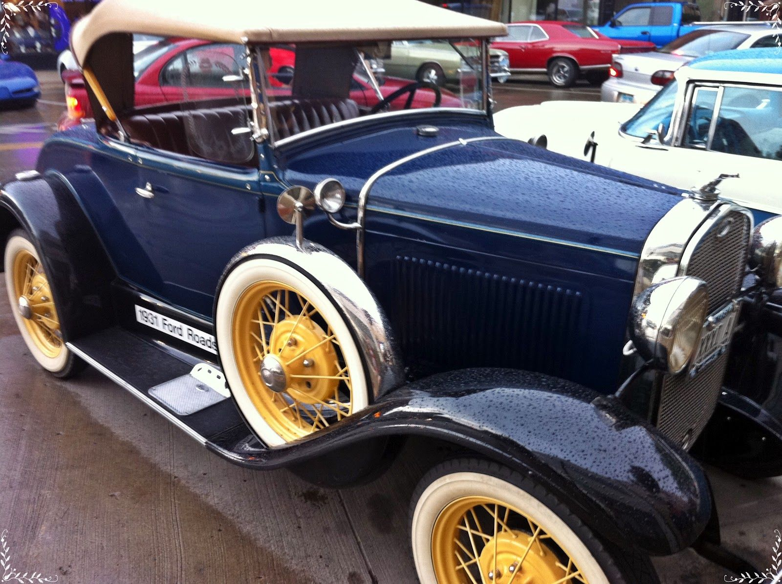 old fashioned cars from car shows | Chick in a fedora: Classic Car ...