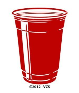 Red Solo Cup Wine Glasses   Queen of Pinterest   Red solo ...