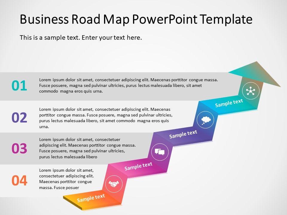 Business Roadmap Powerpoint Template 11 Powerpoint Powerpoint Slide Templates Create Powerpoint Presentation