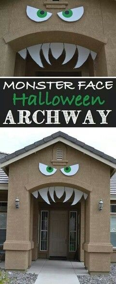 Deco frente Halloween Pinterest Halloween decorations, Deco