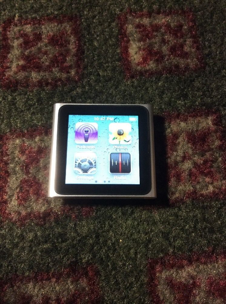 Apple Ipod Nano 6th Generation A1366 Silver 8gb Sn Dcyff721dcmn Late 2010 Mint Ipod Nano Apple Ipod Ipod