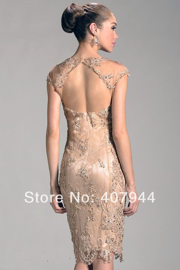 Backless Mother of the Bride Dresses