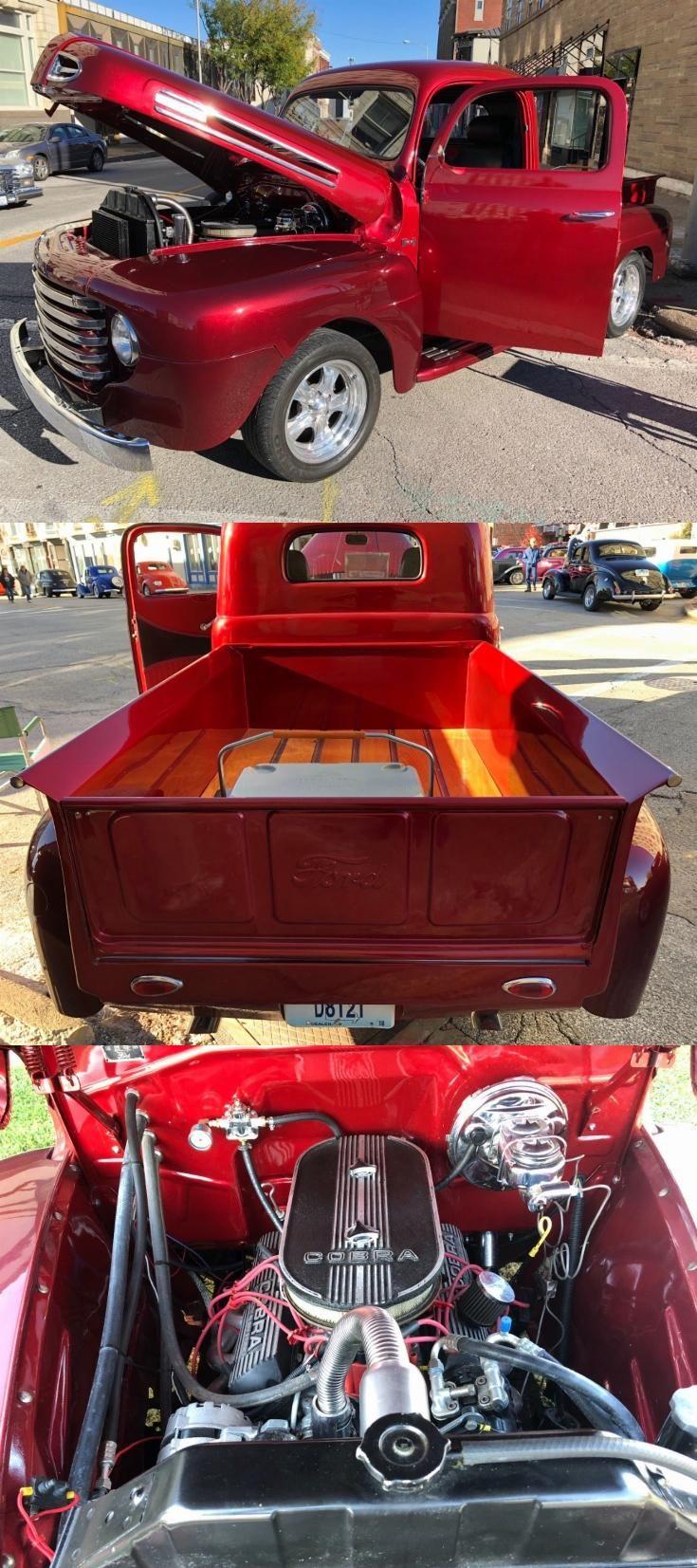Restomod 1948 Ford F1 Pickup Custom Truck