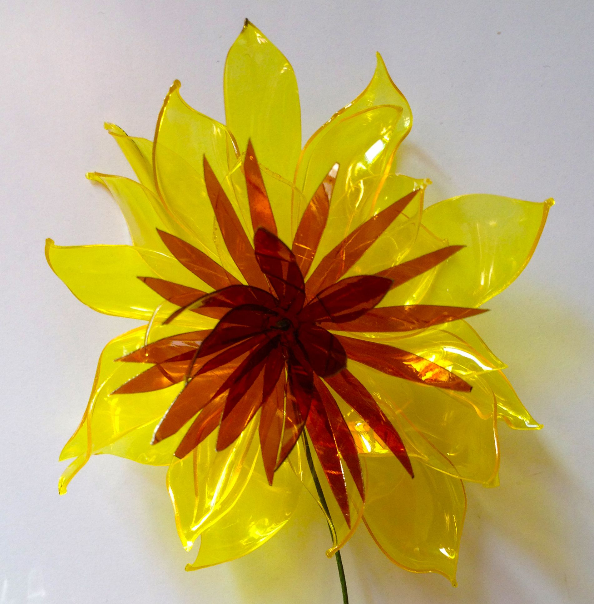 Plastic Bottle Flower Plastic Flowers