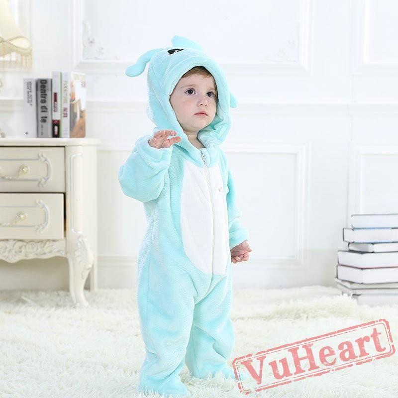 efac3dbdbf9c Aquarius Blue Zodiac Kigurumi Onesies Pajamas Costumes Toddler ...
