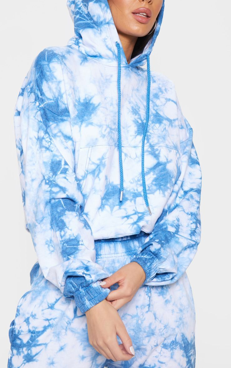 how to tie dye a hoodie with one color