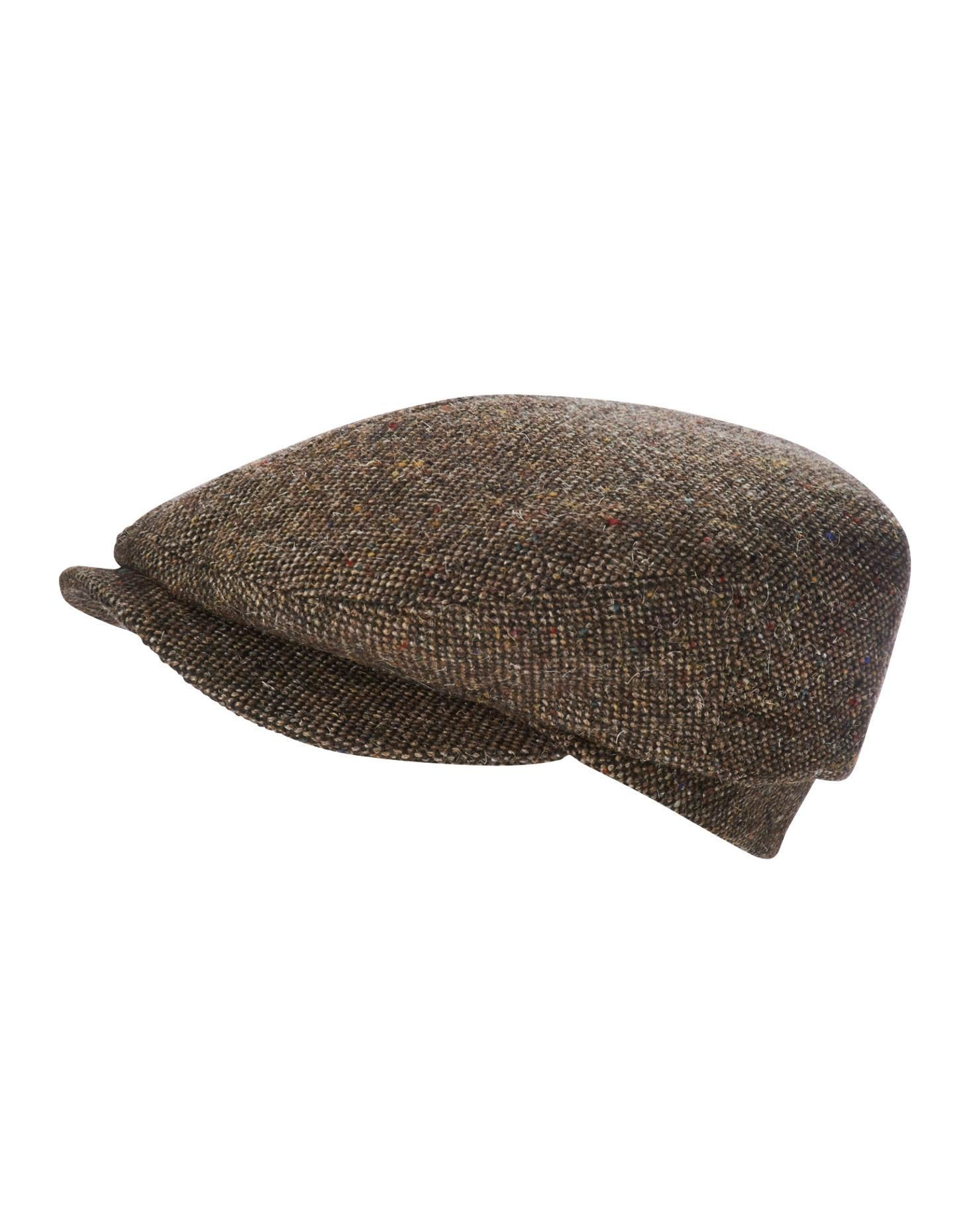Brown Donald Tweed Whippet Womens Tweed Flat Cap  12d98924e72