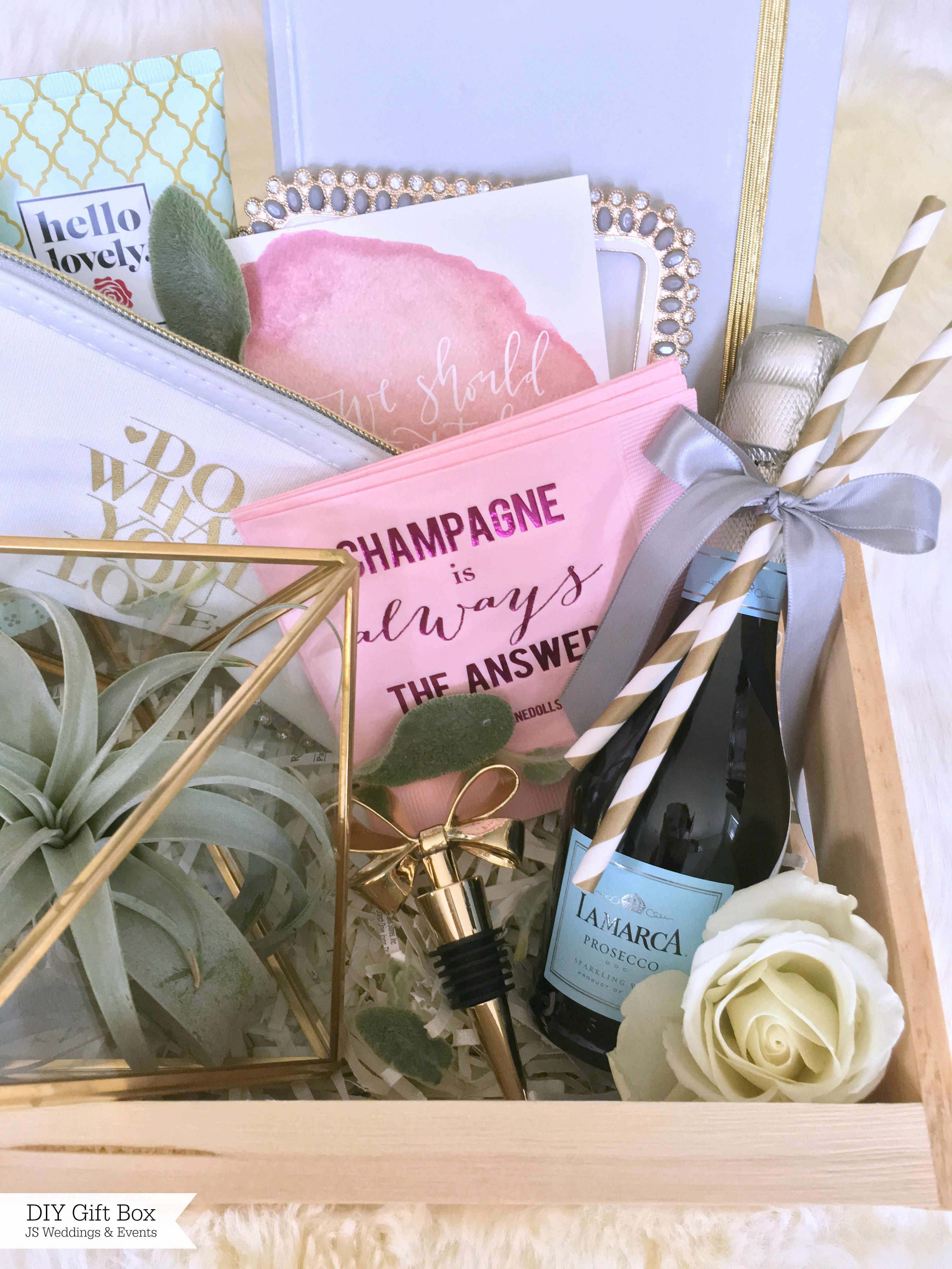 DIY Gift Box | Box, Planners and Gift