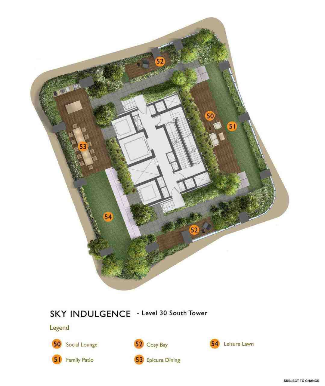 New Futura Site Map And Facilities Glass Facades Sky Pool North Tower