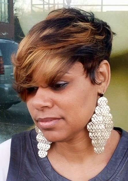 Astounding 1000 Images About 2015 Hort Hairstyles On Pinterest Black Hairstyles For Women Draintrainus
