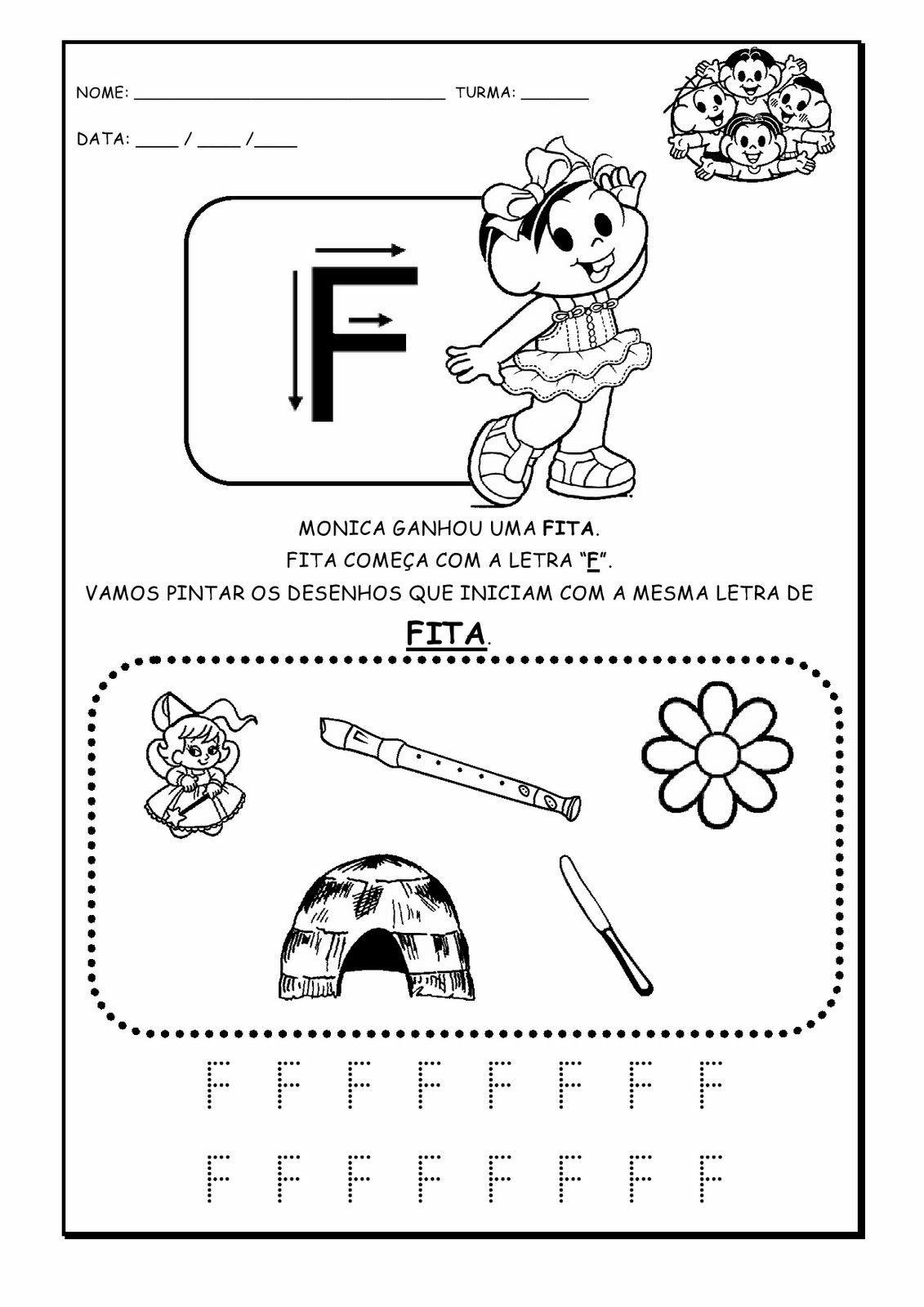 Pin De Rita Em Vogais Com Imagens Atividades Com Alfabeto Pre