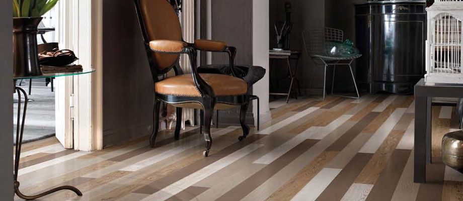 Natural FUSION colours blend in wood floor, by XILO1934