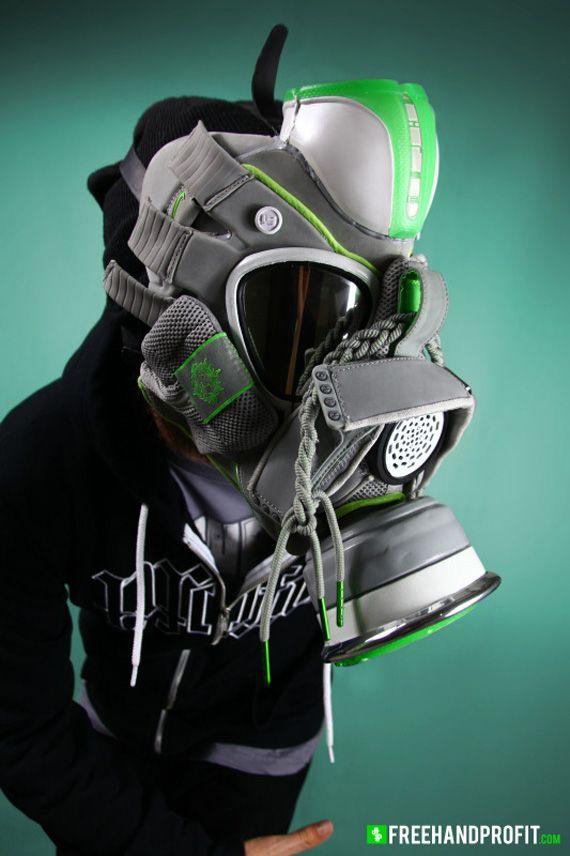 "Nike Zoom LeBron IV ""Dunkman"" Gas Mask By Freehand Profit  1319fdca0"