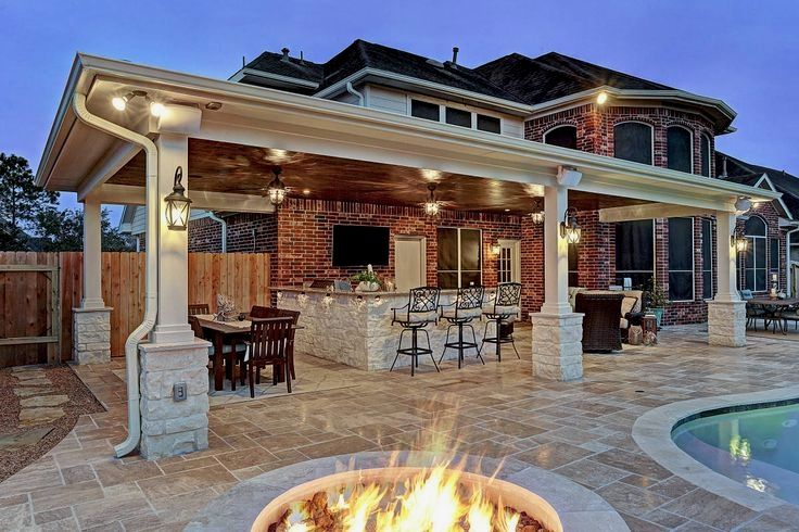 Backyard Designs With Pool And Outdoor