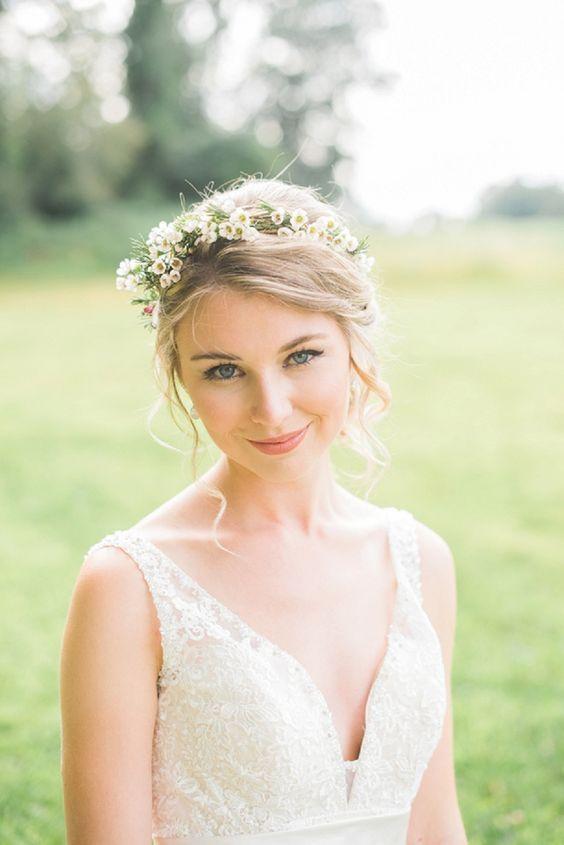 30 hermosas ideas de maquillaje de boda de primavera Undbraut.com