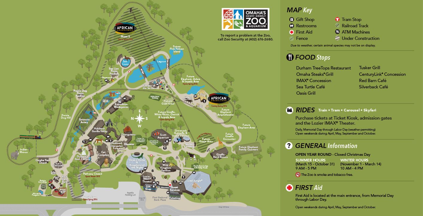 Henry Doorly Zoo Map Zoo Map | Omaha's Henry Doorly Zoo | Entertainment in Omaha