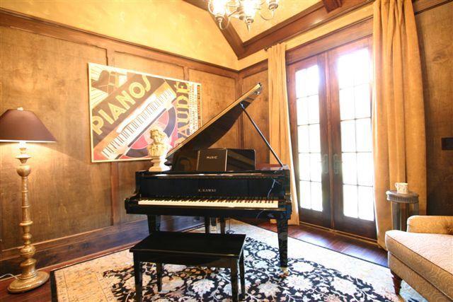 Music Room Studio Interior Design