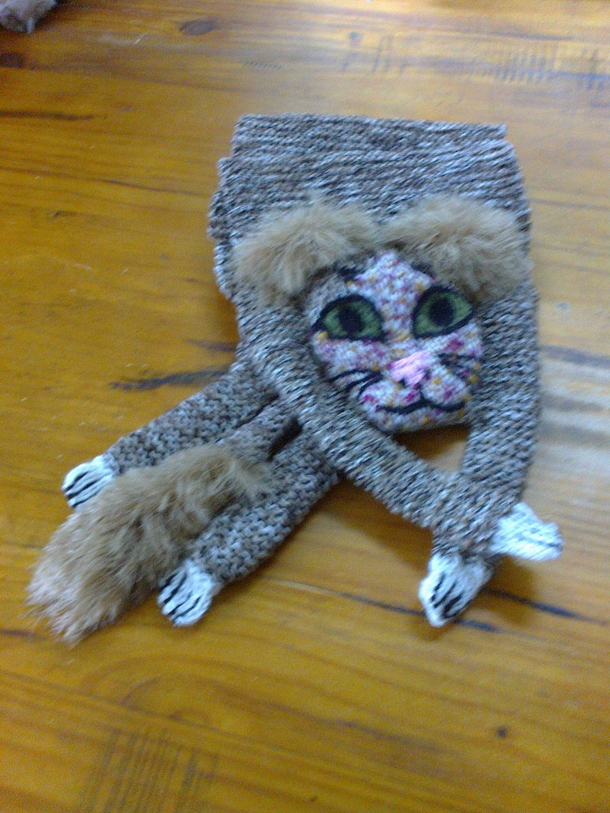 SOME SCARF CATS I HAVE MADE