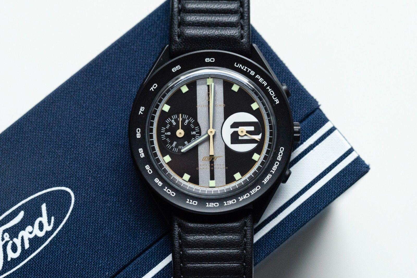 Autodromo Ford Gt Endurance Chronograph Pvd Black Heritage Mm Mint