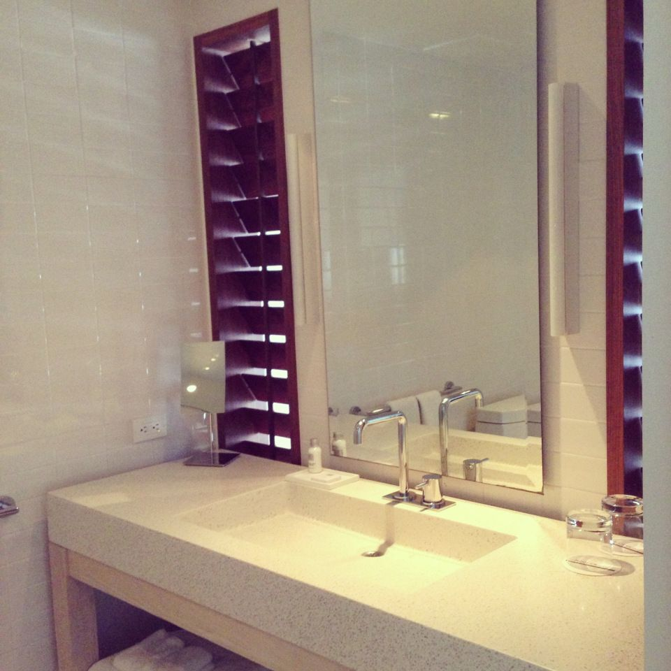 Bathroom Vanities Honolulu bathroom | terrazzo vanity | the modern honolulu | hawaii