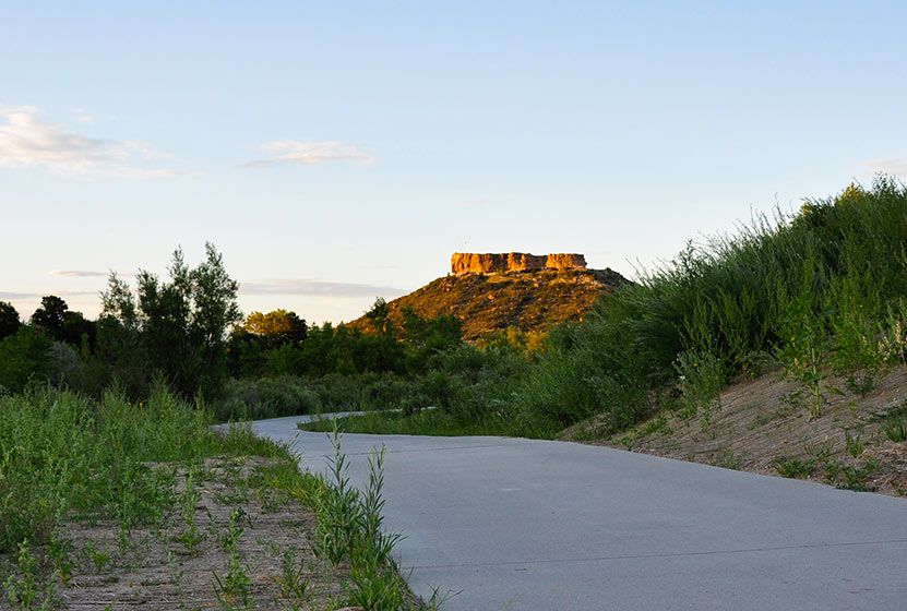 This Trail Winds Through Both The Heart Of Castle Rock And Its Immediate Countryside It Follows Plum Creek Pate Wetlands An Castle Rock Castle Colorado Travel