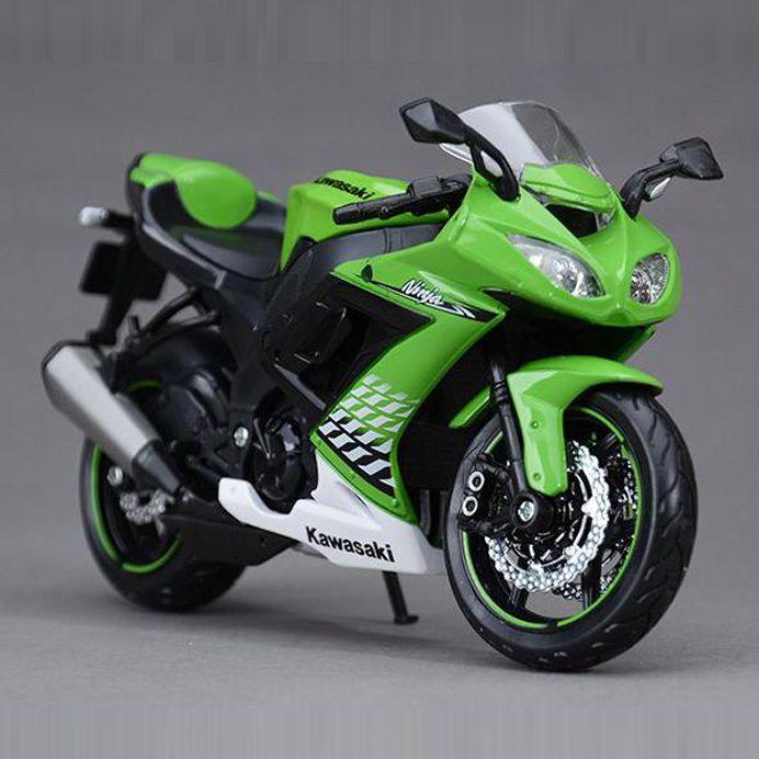 Freeshipping Maisto Kawasaki Zx 10r Ninja 1 12 Motorcycles Diecast