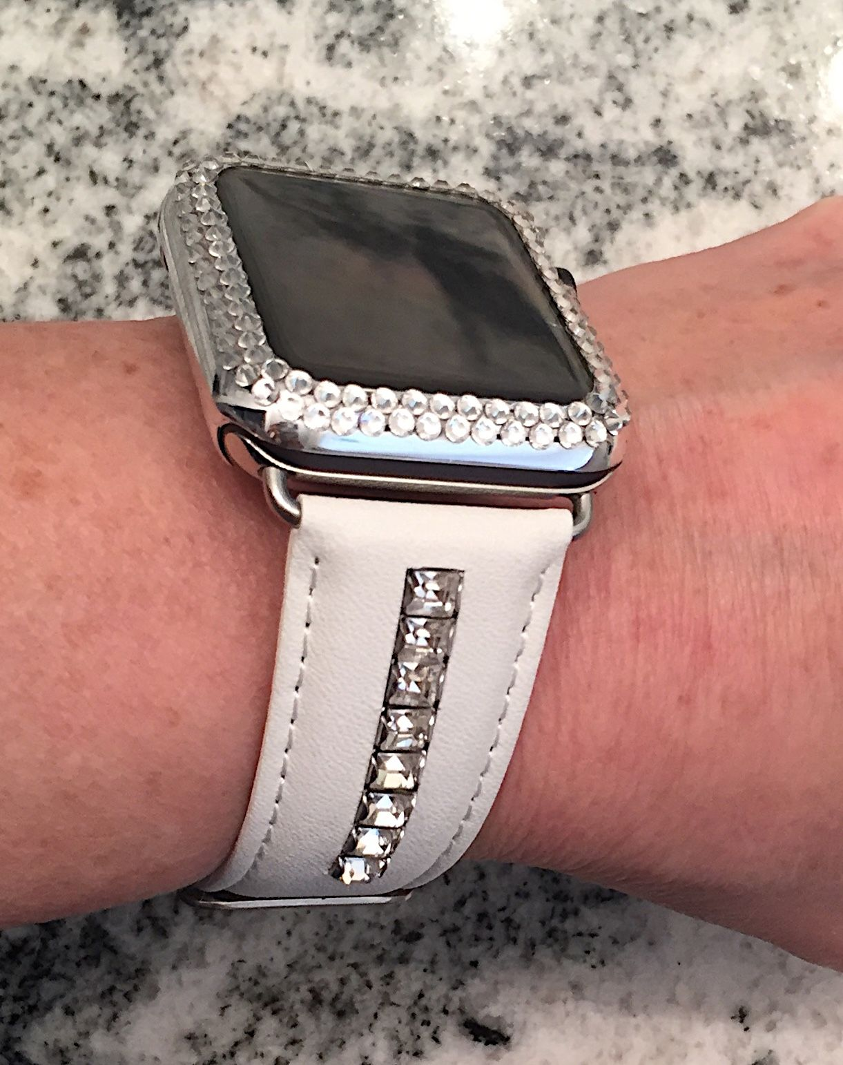 Pin by CrystaliZing Designs on Bling Apple Watch Bands