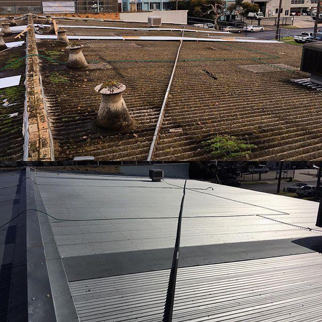 Job Done Asbestos Roof Replacement In Moorabbin Poetsday Friday Friyay