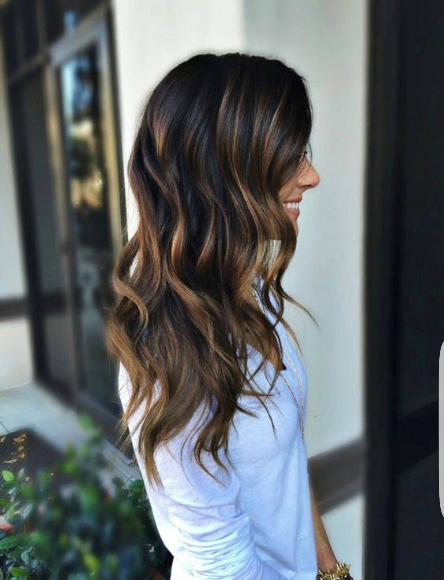 love the color and highlights Hair Shtuffs Pinterest