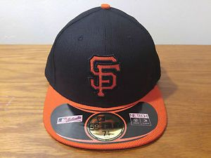 huge selection of 9bd7c b4594 New Era 59Fifty San Francisco Giants Diamond BP Hat Cap Adult Size 7 1 8 MLB  SF