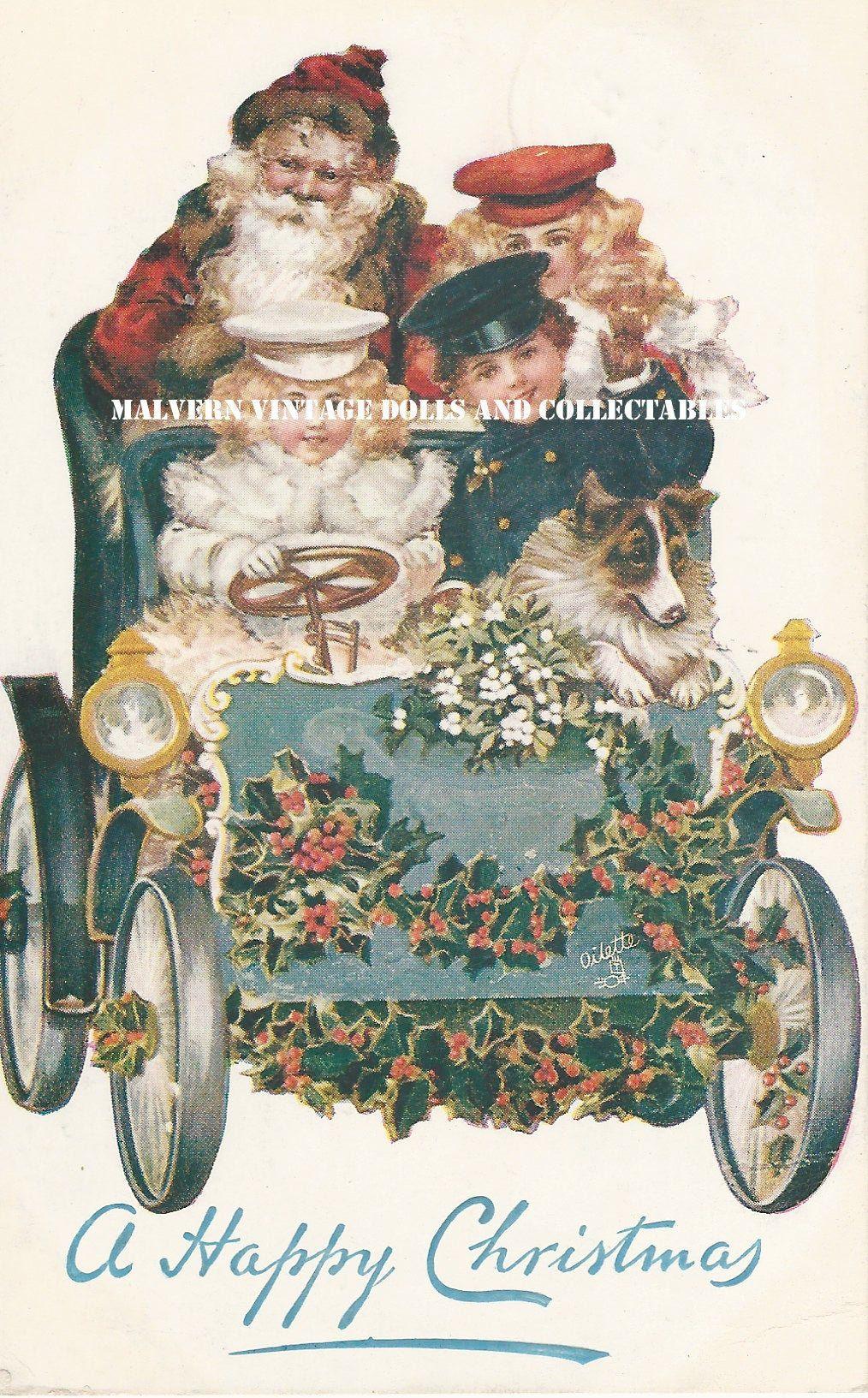 Malvern Victorian Christmas 2020 Antique Victorian Christmas Card Image PDF Instant Digital