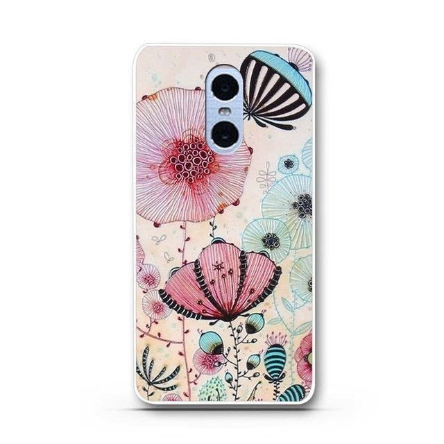 Phone Cases for Funda Xiaomi Redmi Note 4 Case TPU Soft Mobile Phone Back Cover Silicon Phone Case for Xiaomi Redmi Note 4 Coque