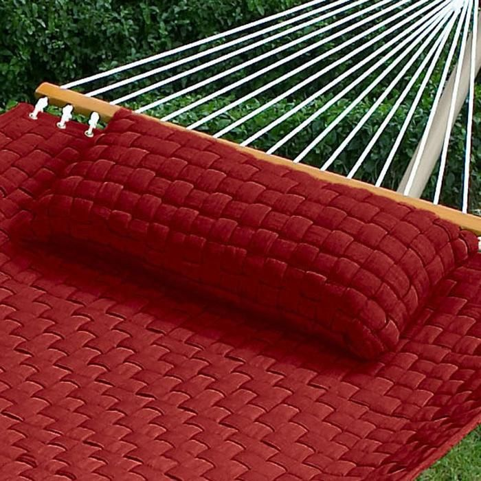 Hammock Pillows Coordinate With Our Quilted Weave Hammocks