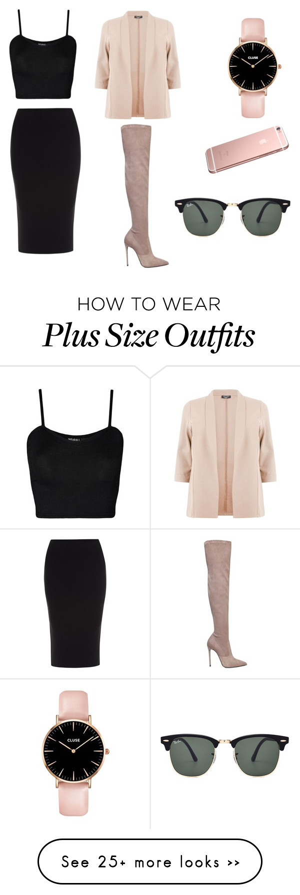 """"" by beatrizsantos191000 on Polyvore featuring Le Silla, Roland Mouret, WearAll and Ray-Ban"