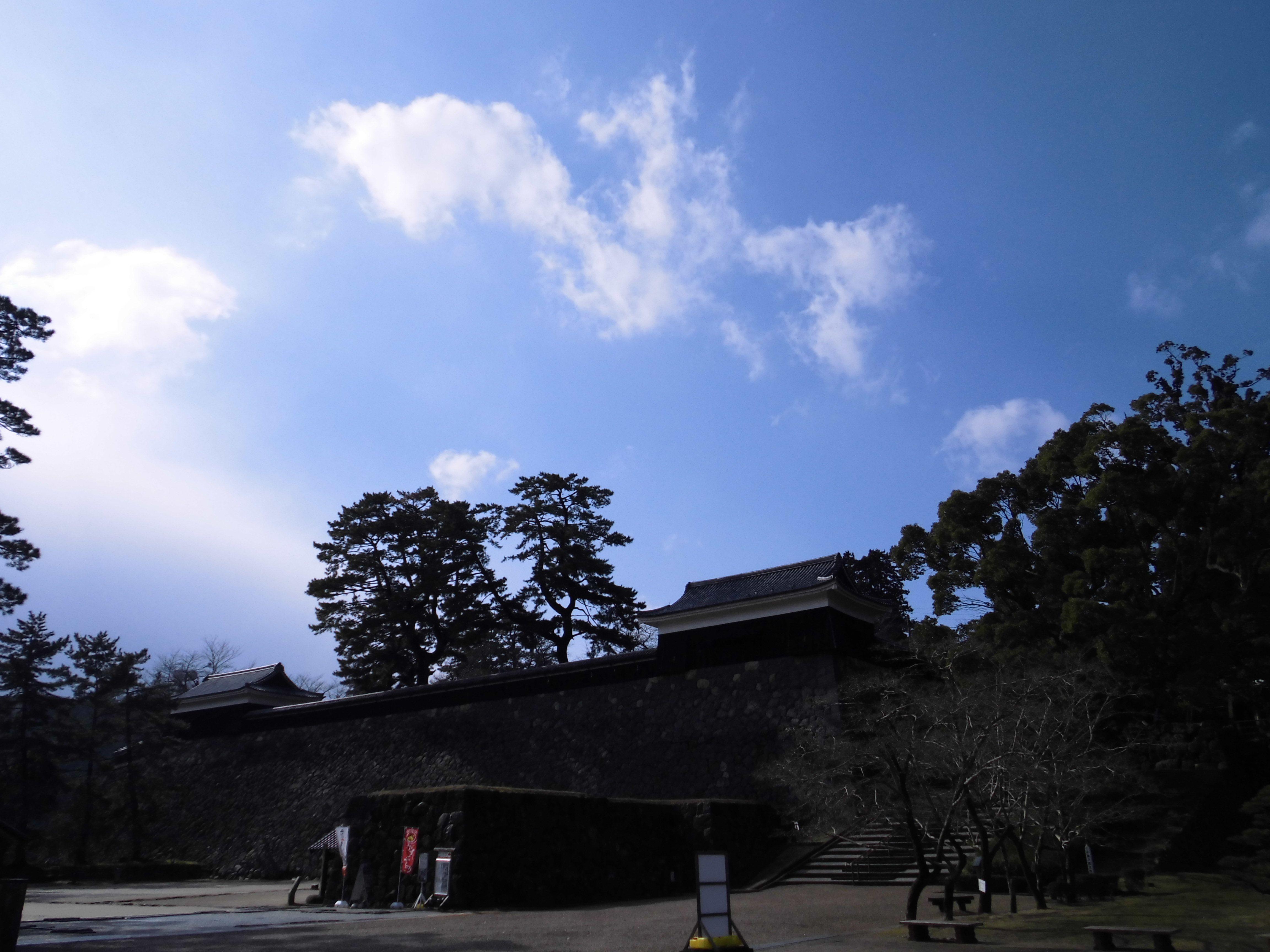 松江城 空 2014.01