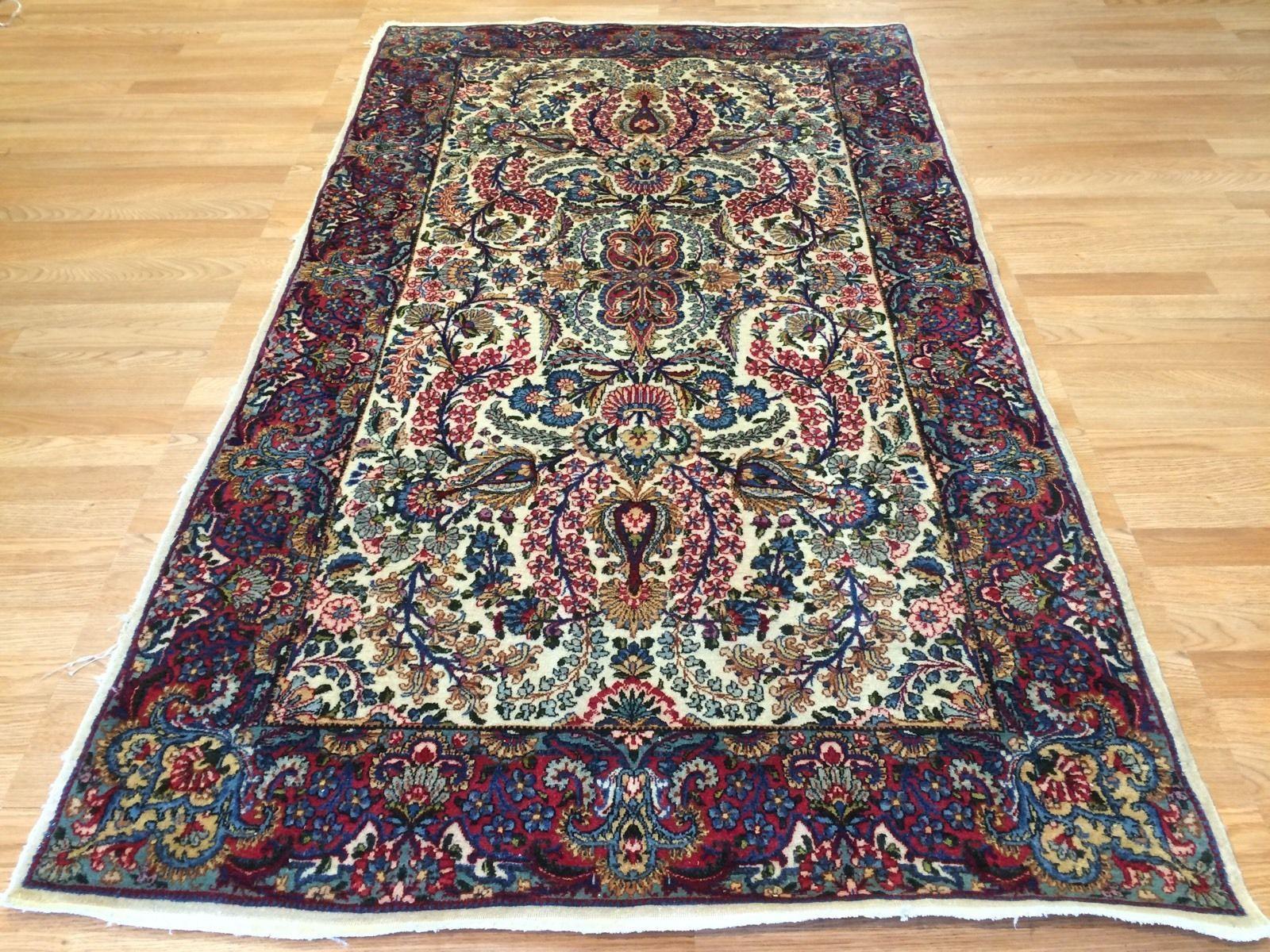 Lavish Lavar Kerman 1930s Antique Persian Rug Ravar Carpet Kerman Is An Ancient City With An Incredible History Goin Antique Persian Rug Persian Rug Rugs